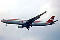 19bv - LTU Airbus A330-322; D-AERG@FRA;02.04.1998 (6350451147).jpg