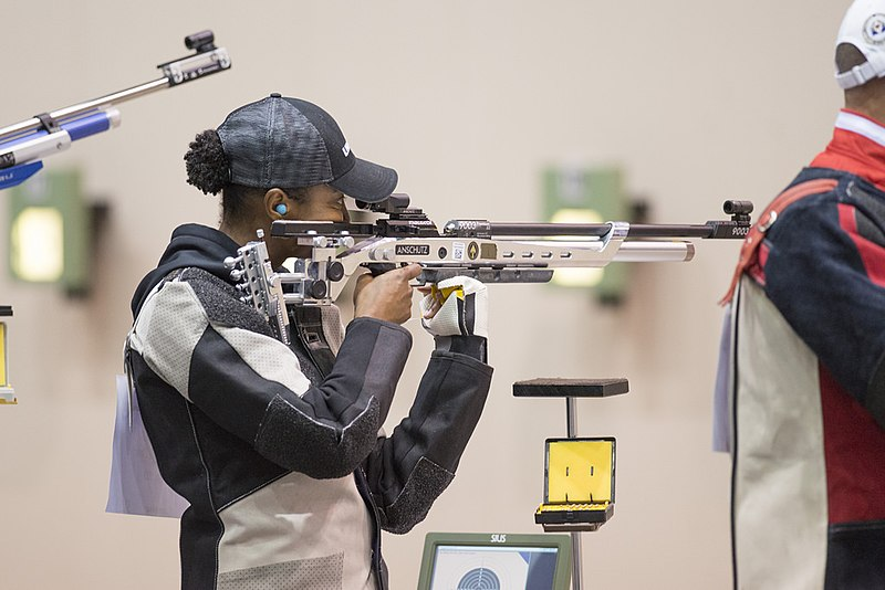 File:1Rilfe Finals16.jpg Description  English: Shooting at the 2017 Warrior Games Date 2017 Source http://www.dodwarriorgames.com Author Department of Defense Warrior Games