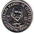 1 песо. Куба. 1977. Карлос Мануэль де Сеспедес.jpg