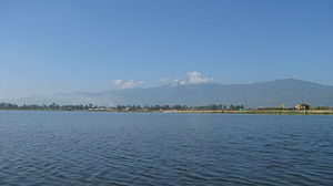 Manipur - Loktak Lake, the largest lake in the state.