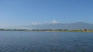 Manipur - Loktak Lake, the largest lake in the state.