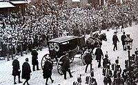 L'enterrement de Victor Hugo