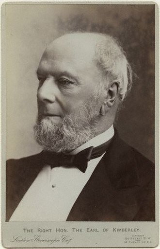 John Wodehouse, 1st Earl of Kimberley - Lord Kimberley, ca. 1897.