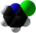 2-Chloropyridine Space Fill.png