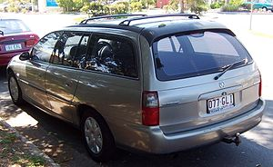 Holden Commodore (VX) - 2001-2002 Holden Commodore (VX II) Executive station wagon