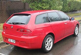 Alfa Romeo 156 - 156 Sportwagon (2003 facelift)