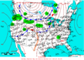 2005-05-10 Surface Weather Map NOAA.png