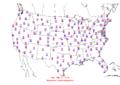 2006-03-29 Max-min Temperature Map NOAA.png