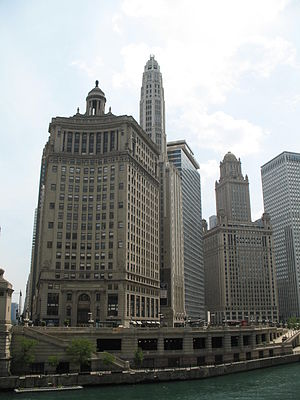 London Guarantee Building - Image: 20070530 360 North Michigan and 35 East Wacker