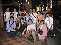 2007 film crew for Truth in Numbers picture of Wikipedians in Tokyo, Japan.jpg