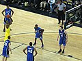 20081206 DeShawn Sims shoots free throws.jpg