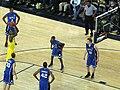 20081206 DeShawn Sims shoots free throws.jpg