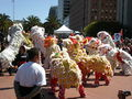 2008 Olympic Torch Relay in SF - Lion dance 13.JPG