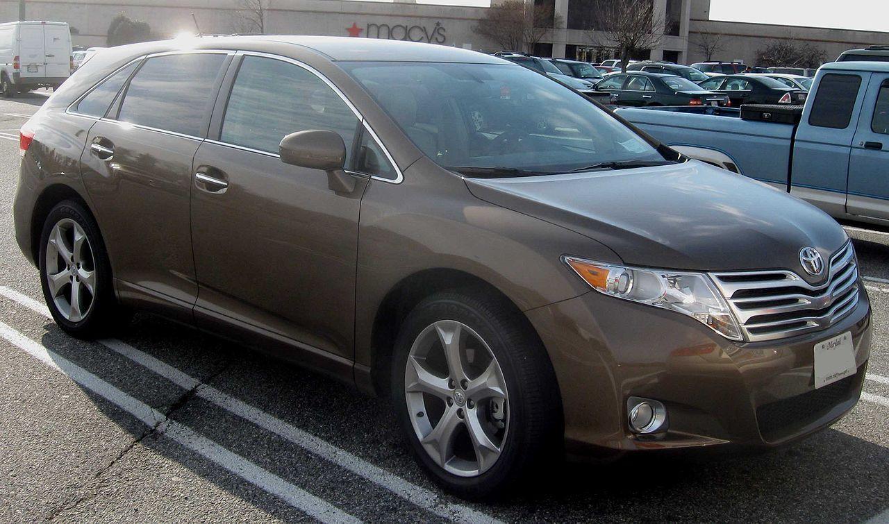 File:2009 Toyota Venza.jpg - Wikimedia Commons