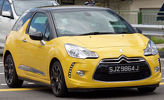 DS 3 Motor vehicle