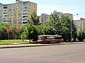 2011-05-28 Трамвайная остановка на проезде Дежнёва - panoramio.jpg