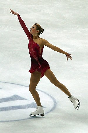 Ksenia Makarova at the 2011 World Figure Skating Championships