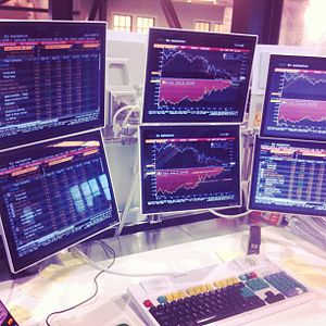 Multi-monitor - A Bloomberg Terminal