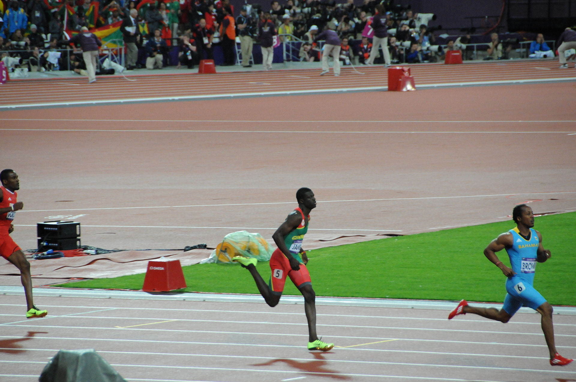 athletics at the 2012 summer olympics � mens 400 metres