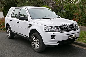 Land Rover Freelander - Facelift Land Rover Freelander 2 TD4 (Australia)