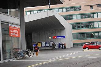 Zürich Altstetten railway station - Image: 2014 02 15 Zuriko (Foto Dietrich Michael Weidmann) 092