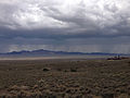 2014-07-28 13 25 30 View west-northwest from the road to the fossil shelter in Berlin-Ichthyosaur State Park.JPG