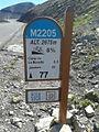 2014 Mountain pass cycling milestone - Cime de la Bonette St Etienne de Tinee 24.jpg