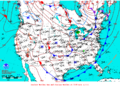 2015-10-14 Surface Weather Map NOAA.png