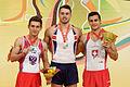 2015 European Artistic Gymnastics Championships - Pommel Horse - Medalists 13.jpg