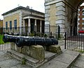 2015 London-Woolwich, Cambridge Barracks gate house 17.JPG