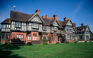 Wightwick Manor Grade I listed historic house museum in the United Kingdom