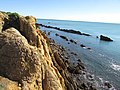 2016-11-06, Albufeira, Cliff top view, Praia dos Arrifes (1).JPG