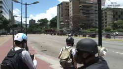 Archivo:2017 Venezuelan Constitutional Assembly bomb.webm