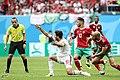 2018 FIFA World Cup Group B march IRN-MAR 23.jpg