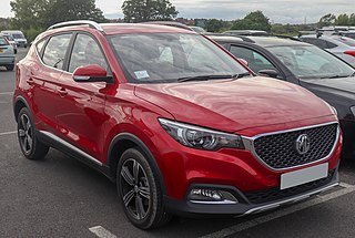 MG ZS (crossover) Subcompact crossover SUV produced by MG Motor