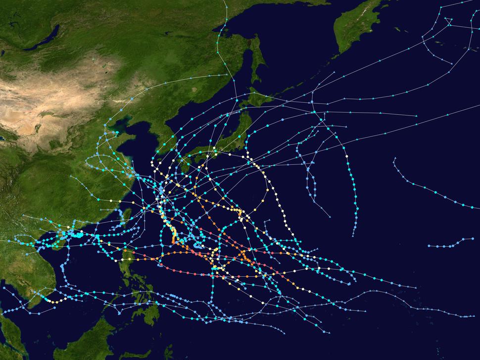 2018 Pacific typhoon season summary