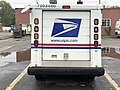 2020-10-28 11 11 11 Rear view of a USPS Grumman LLV in Edison Township, Middlesex County, New Jersey.jpg