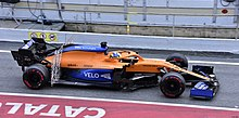 2020 Formula One tests Barcelona, McLaren MCL35, Norris.jpg