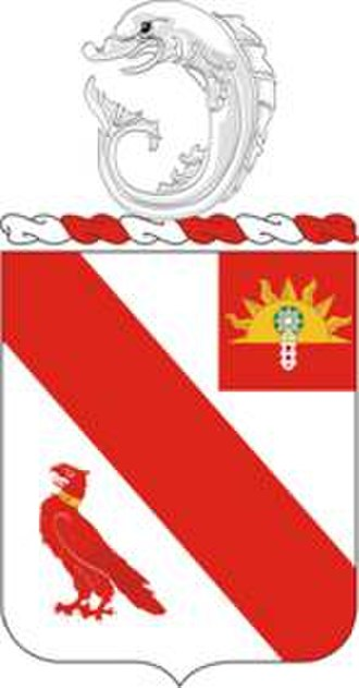 21st Field Artillery Regiment - Coat of arms