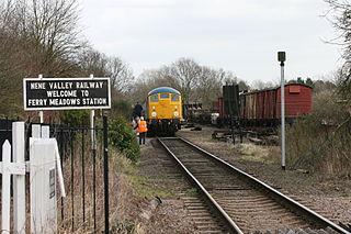 Ferry Meadows railway station