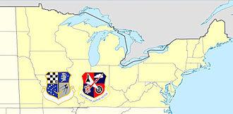 24th Air Division - 24th Air Division/Northeast Air Defense Sector AOR, 1982–1990