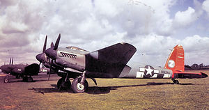 25th Tactical Reconnaissance Wing - de Havilland Mosquito XVI of the 654th Bomb Sq