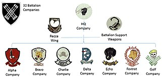 32 Battalion (South Africa) - 32 Battalion Structure