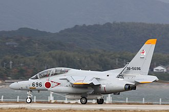 Kawasaki T-4 - T-4 of 304th Squadron at Tsuiki Air Field (2010)