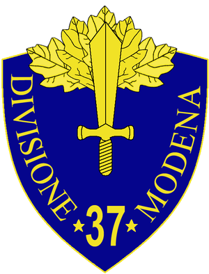 37th Infantry Division Modena - 37th Infantry Division Modena Insignia
