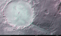 3D image of Crater Holden and Uzboi Vallis ESA204887.tiff