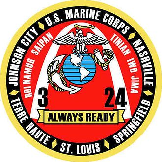 3rd Battalion, 24th Marines - 3/24 Insignia