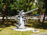3 Inch 50 Caliber Anti-Aircraft Gun Display at Chengkungling Left View 20121006.jpg