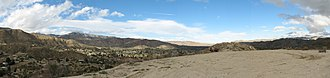 Morongo Valley, California - Morongo Valley looking northeast