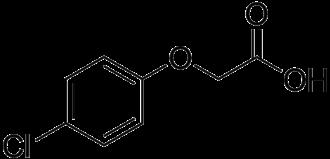 4-Chlorophenoxyacetic acid - Image: 4 Chlorophenoxyacetic acid